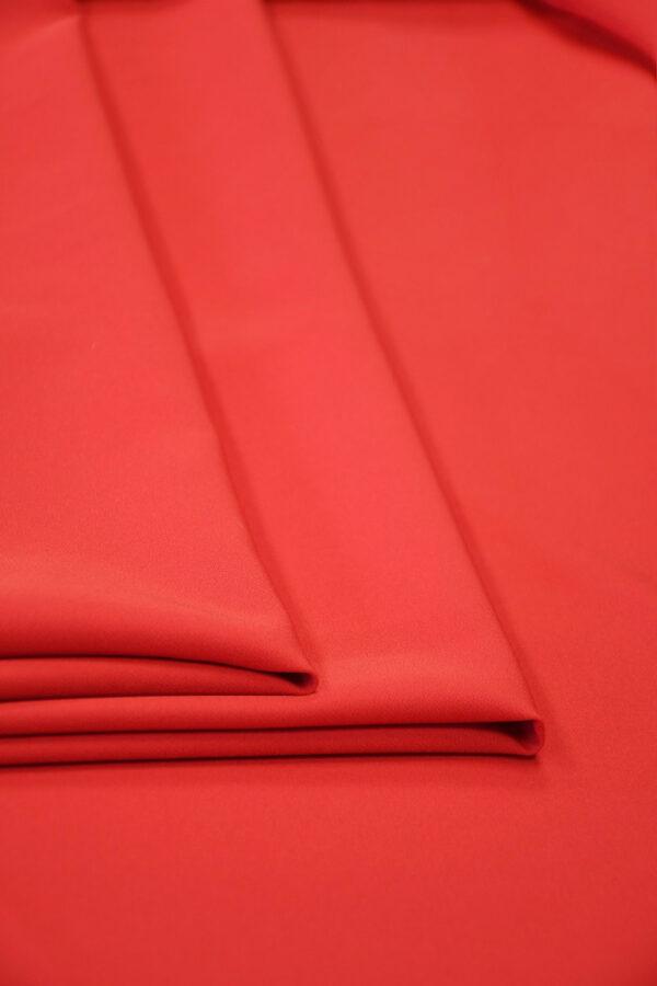Кади стрейч ярко-красный 2