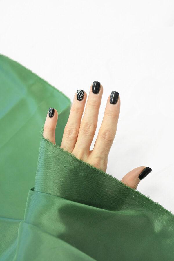 Подклад стрейч зеленый 4