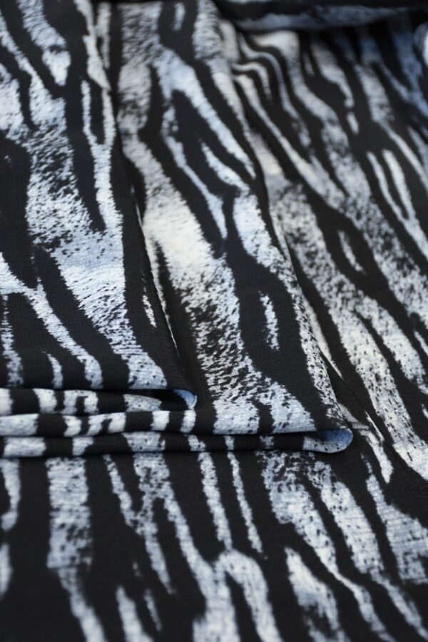 Креп с тигровым принтом (10341) - Фото 10