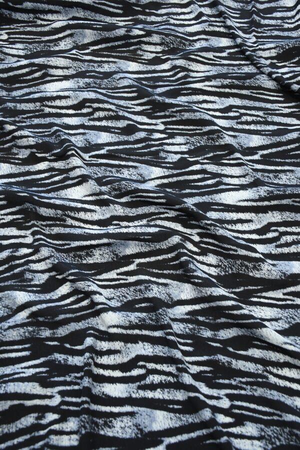 Креп с тигровым принтом (10341) - Фото 6