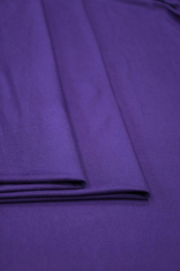 Трикотаж фиолетовый (10344) - Фото 9