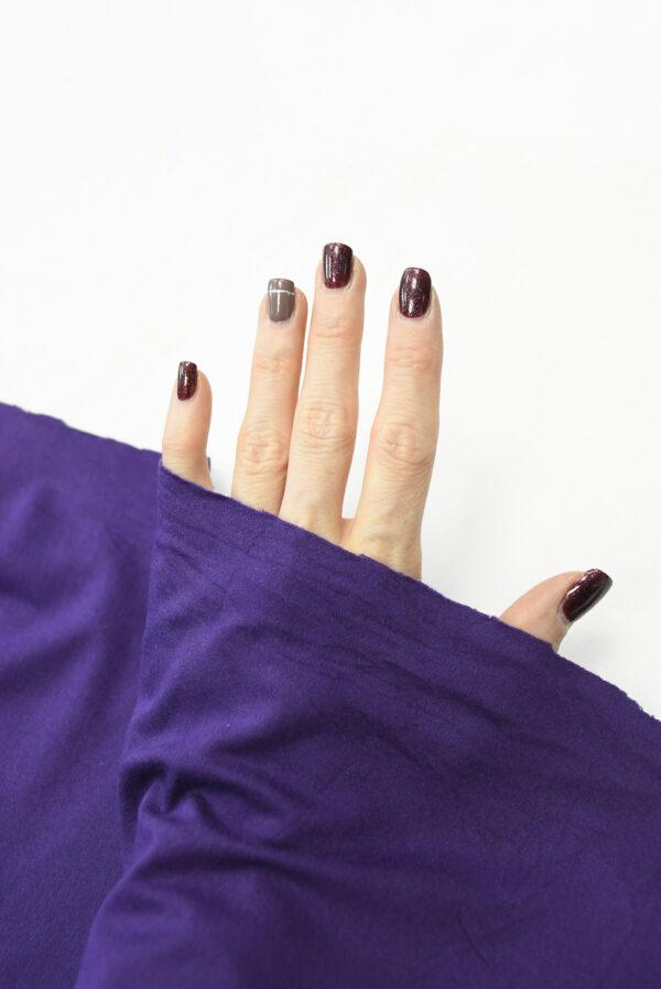 Трикотаж фиолетовый (10344) - Фото 7