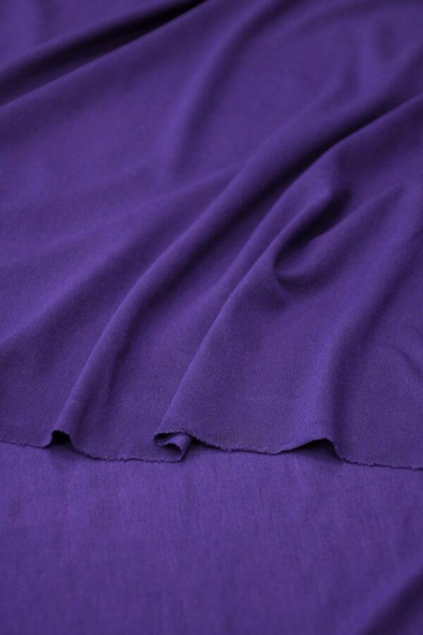 Трикотаж фиолетовый (10344) - Фото 10