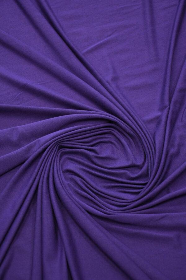 Трикотаж фиолетовый (10344) - Фото 8
