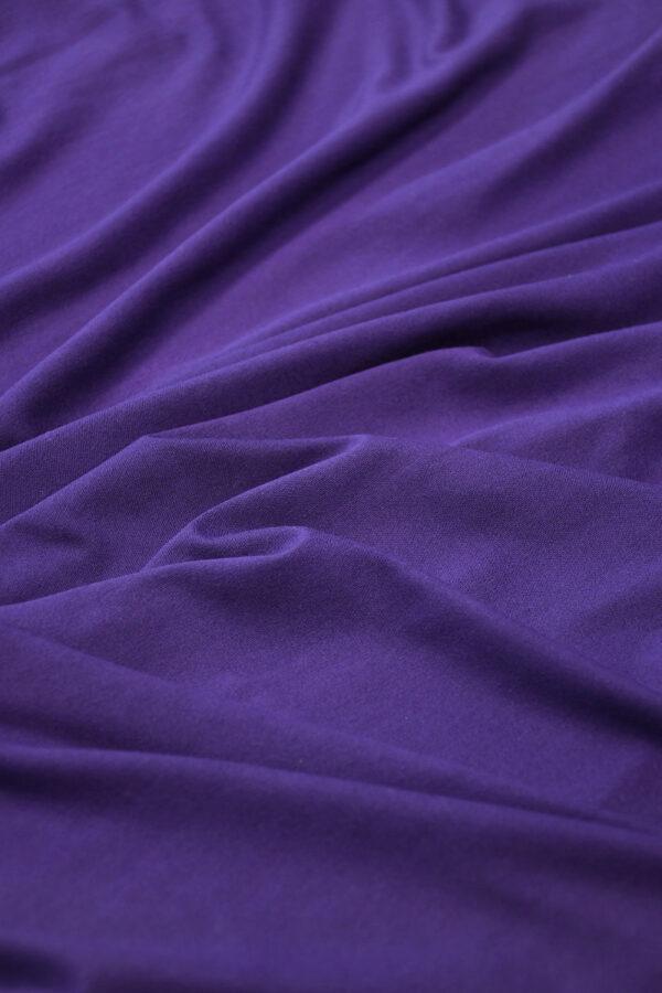 Трикотаж фиолетовый (10344) - Фото 6