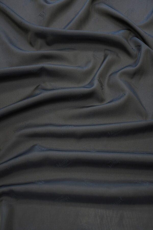 Подклад вискоза темно-синий с надписями