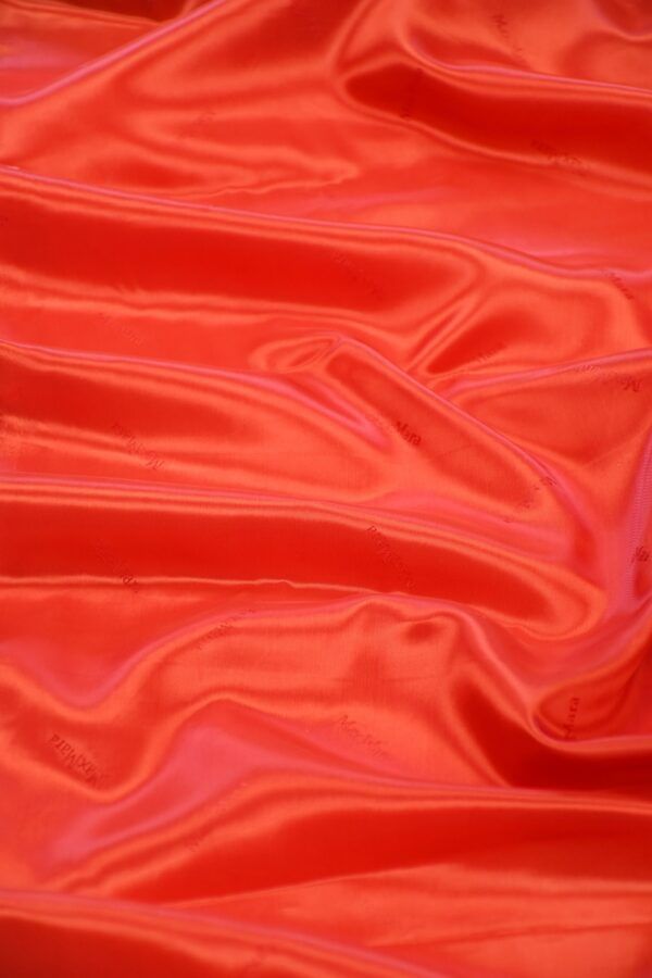 Подклад вискоза красный с надписями