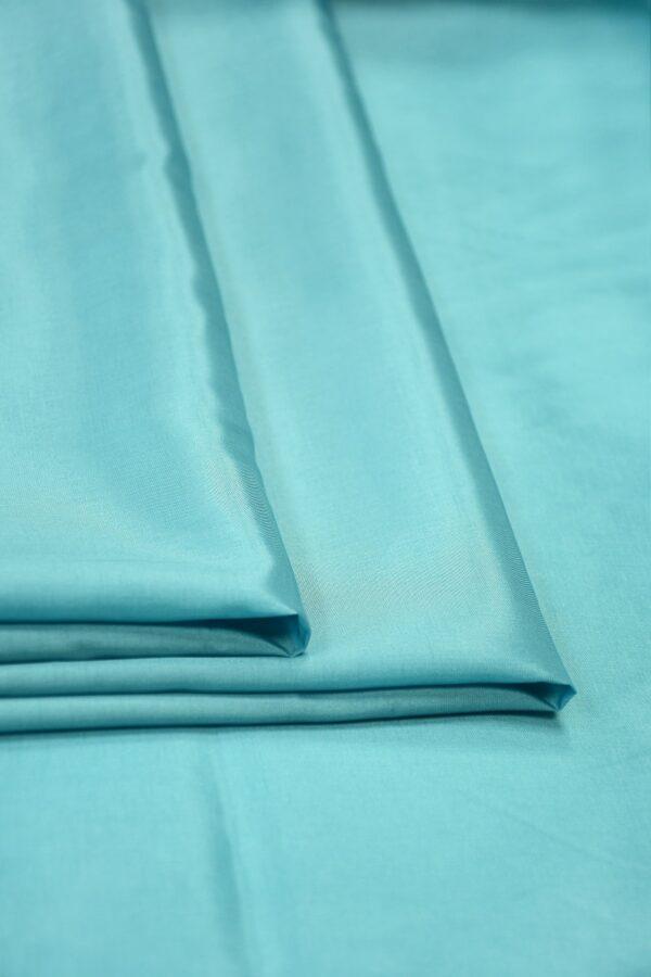 Подклад вискоза голубой с мятным оттенком 4