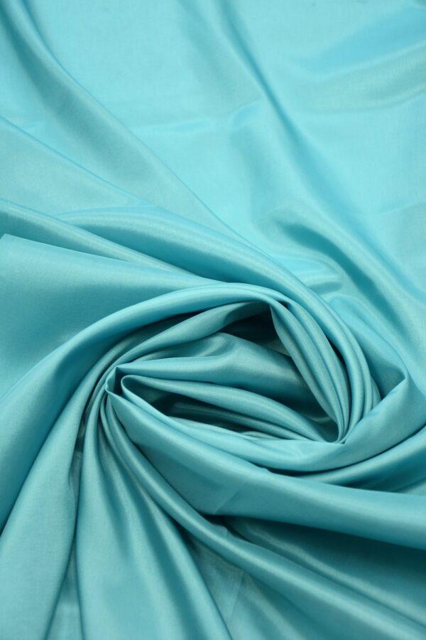Подклад вискоза голубой с мятным оттенком 3