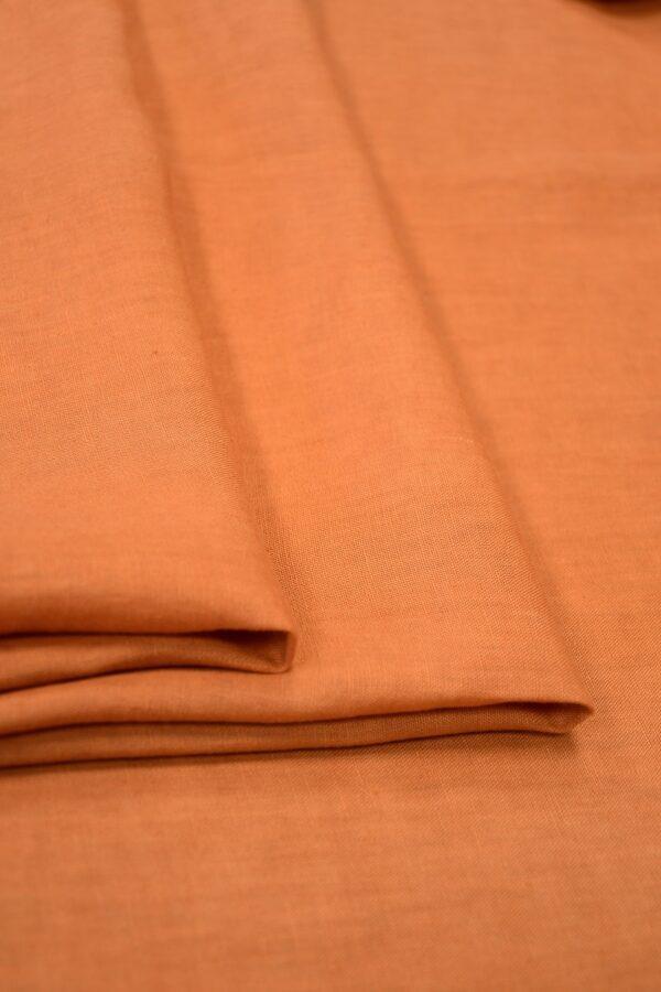 Лен оранжевый 4