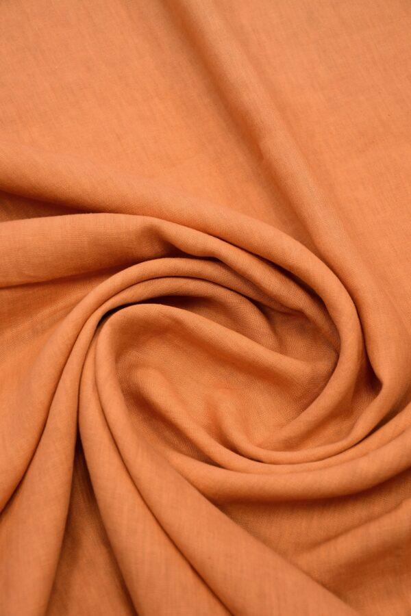 Лен оранжевый 2