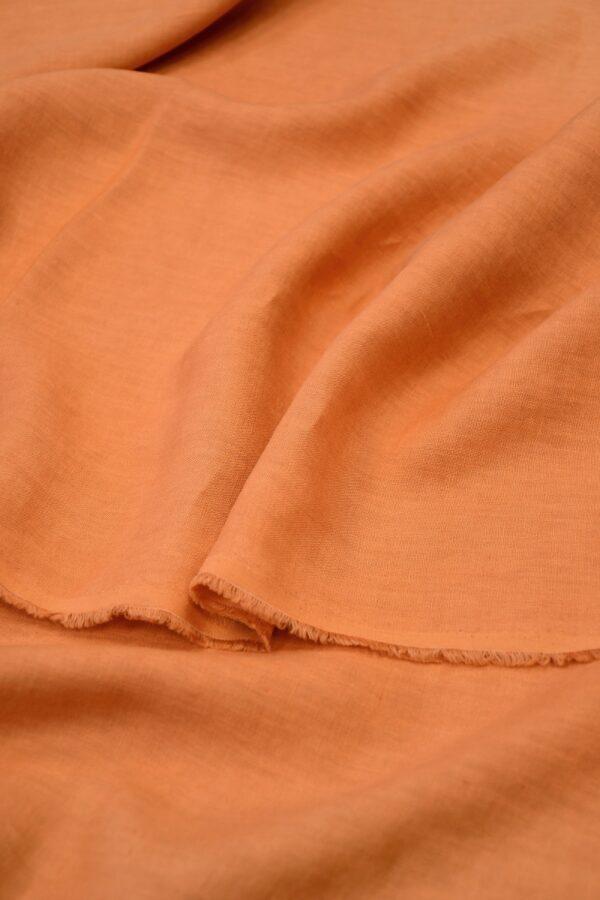 Лен оранжевый 3