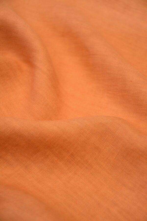 Лен оранжевый 5