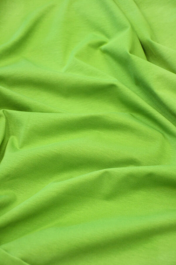 Трикотаж ярко-зеленый