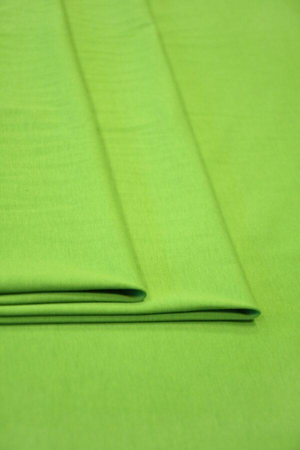 Трикотаж ярко-зеленый 3