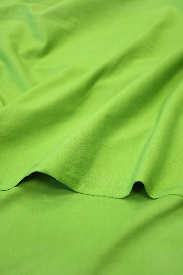 Трикотаж ярко-зеленый 4