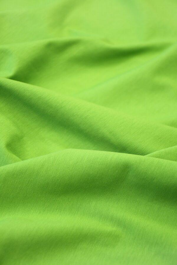 Трикотаж ярко-зеленый 5