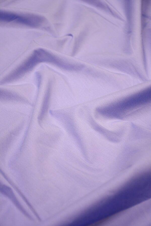 Хлопок стрейч блузочный сиреневый (10557) - Фото 6