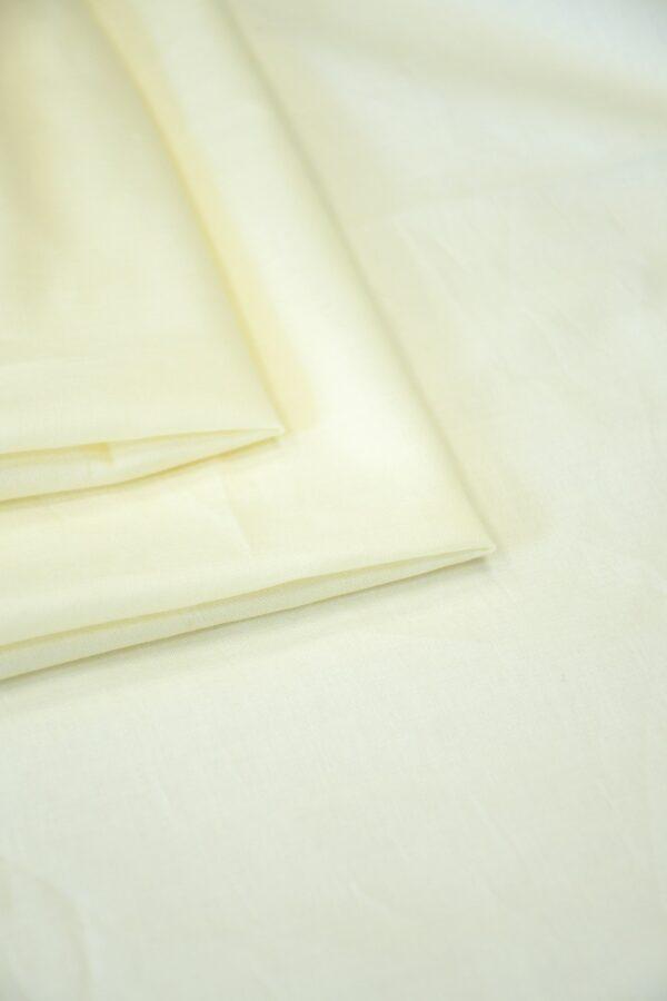 Батист хлопковый светлый ванильный (10560) - Фото 9