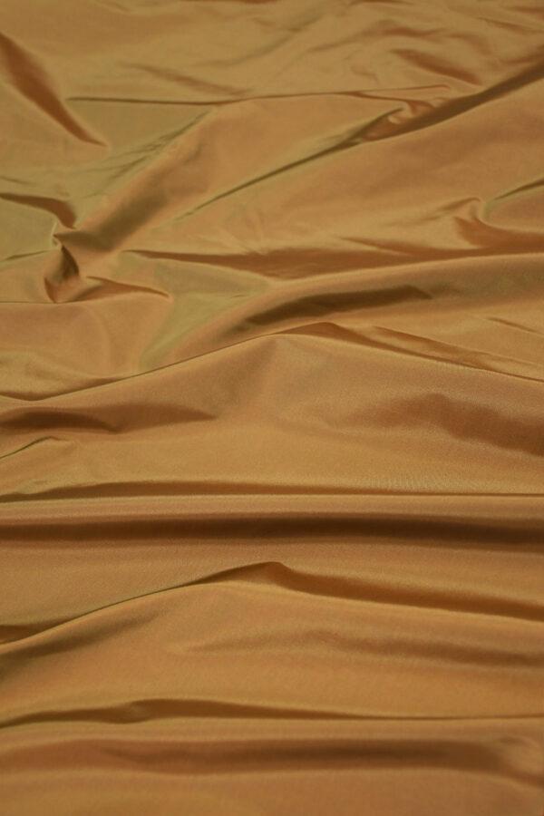 Тафта шелк хамелеон коричневая
