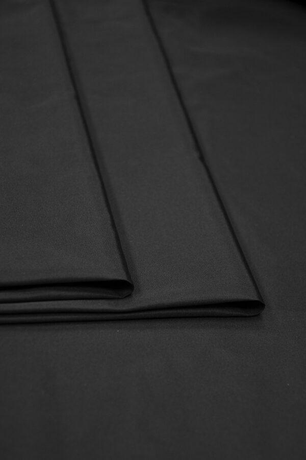 Тафта шелковая черная 4
