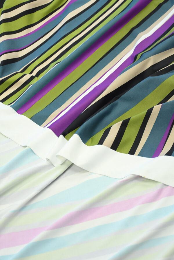 Бифлекс в неровную разноцветную полоску 3