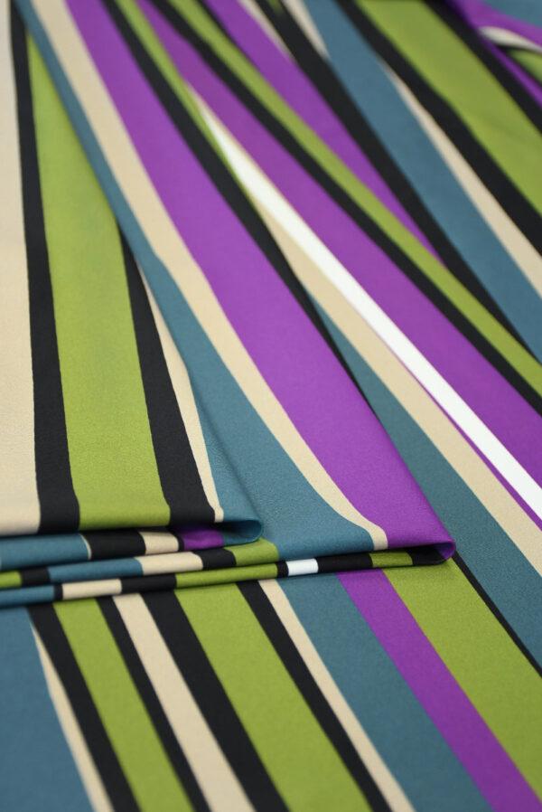 Бифлекс в неровную разноцветную полоску 4