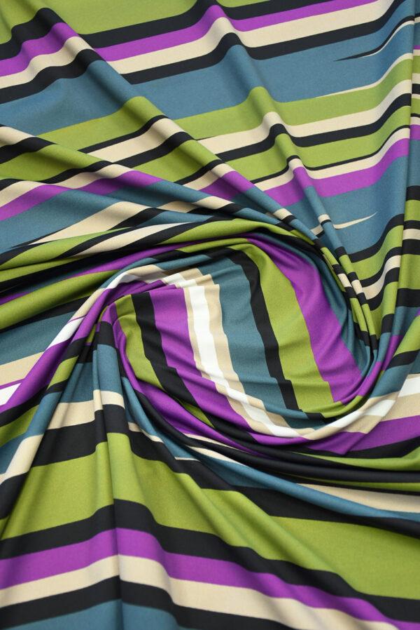 Бифлекс в неровную разноцветную полоску 2