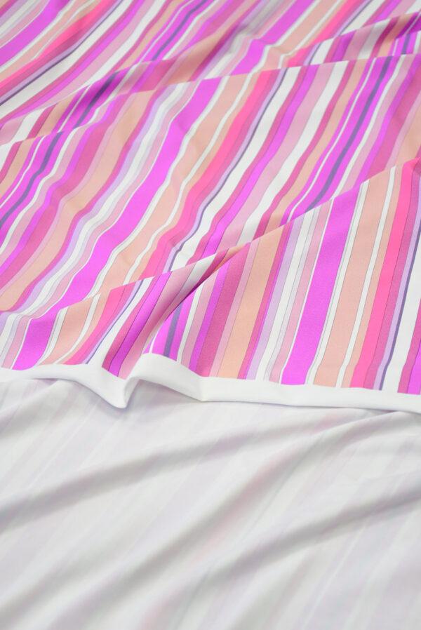 Бифлекс в белую и розовую полоску 3