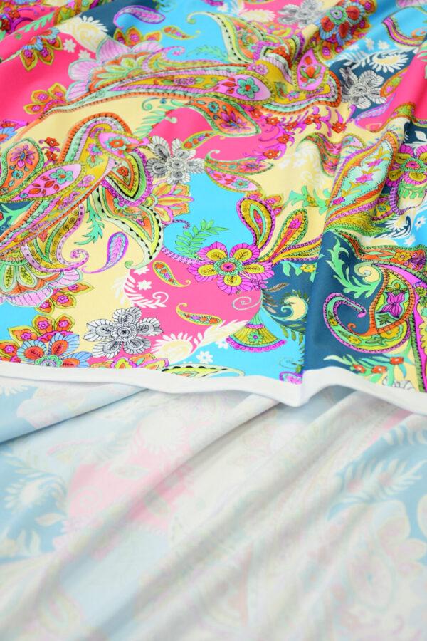 Бифлекс с разноцветным пейсли 3