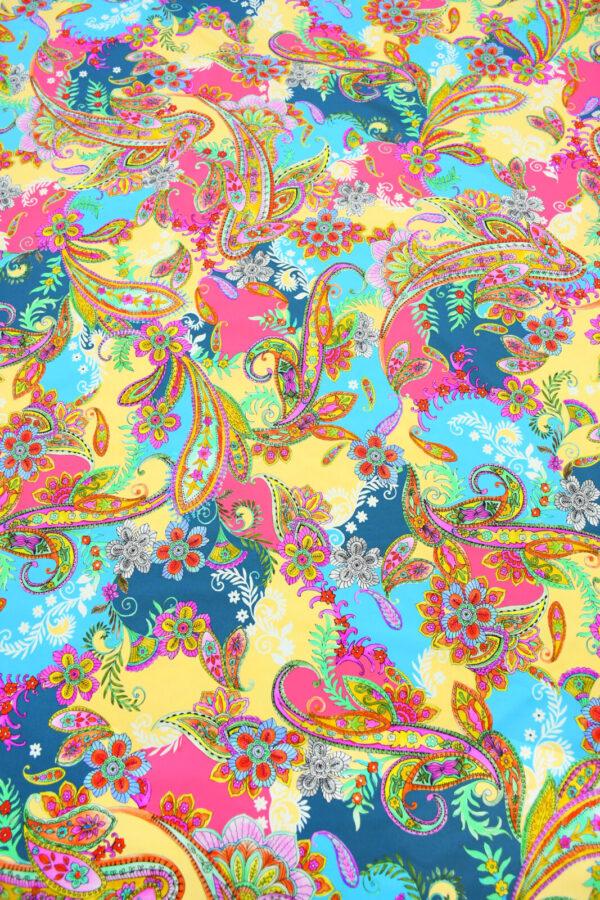 Бифлекс с разноцветным пейсли 5