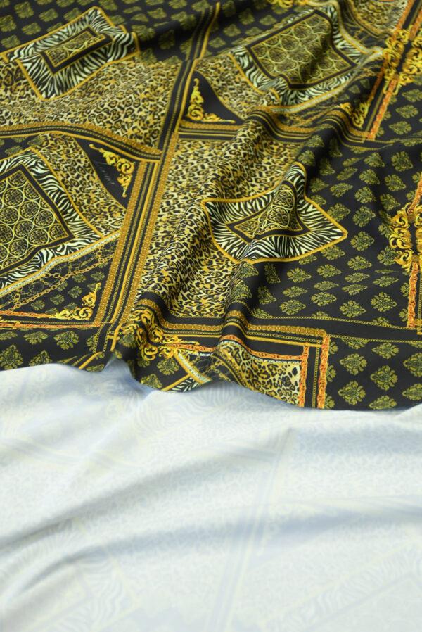 Бифлекс с леопардовым узором в сочетании с геометрией 4