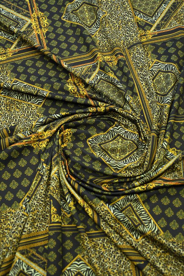 Бифлекс с леопардовым узором в сочетании с геометрией 2