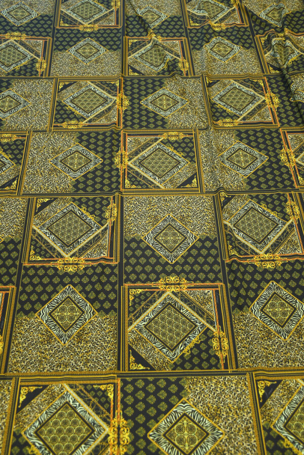 Бифлекс с леопардовым узором в сочетании с геометрией 5