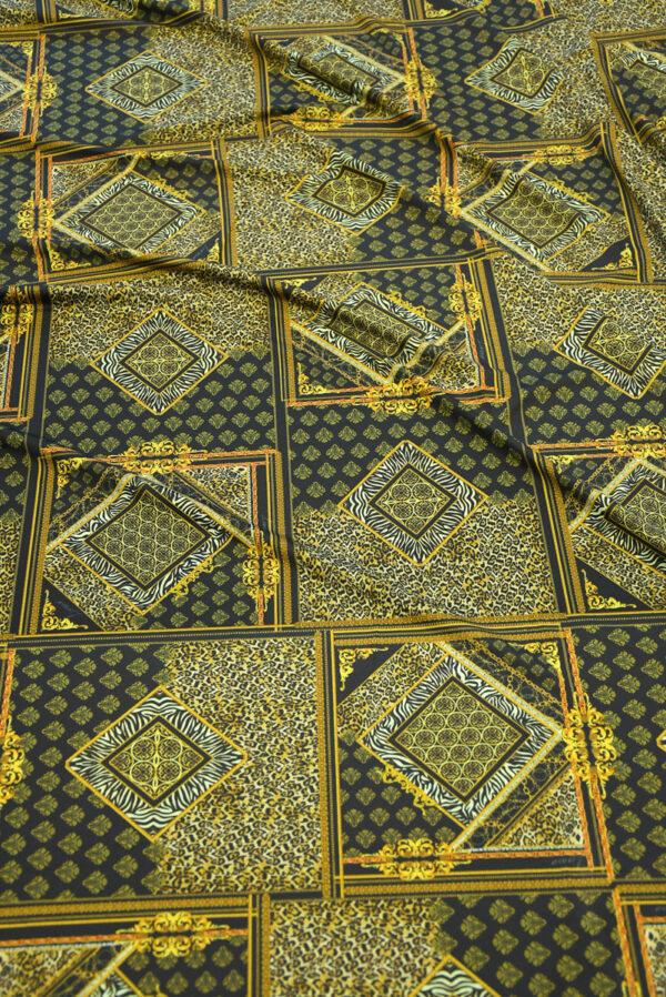 Бифлекс с леопардовым узором в сочетании с геометрией