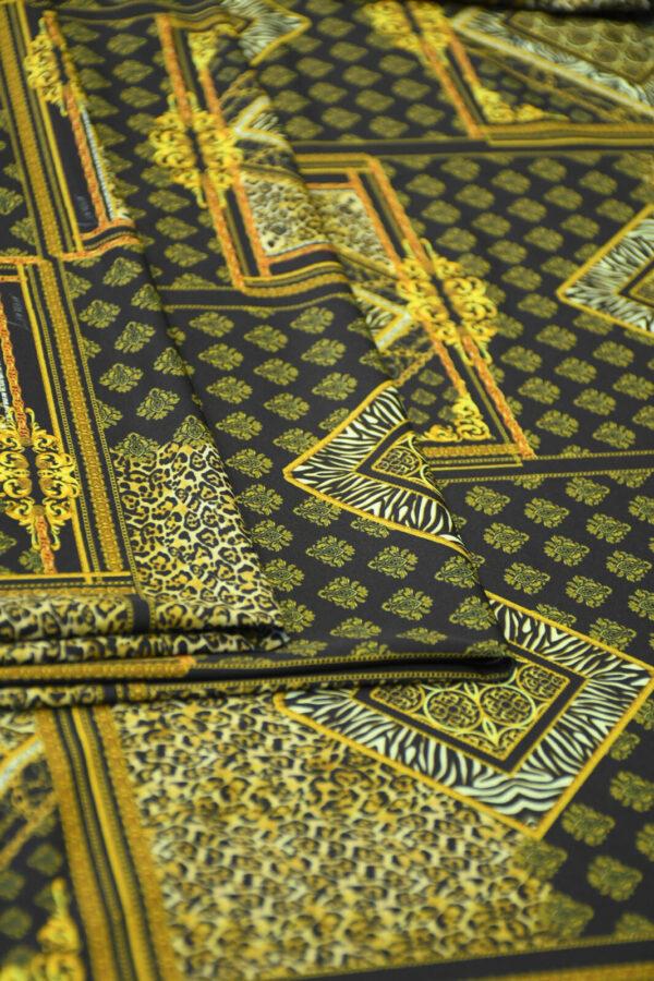 Бифлекс с леопардовым узором в сочетании с геометрией 3