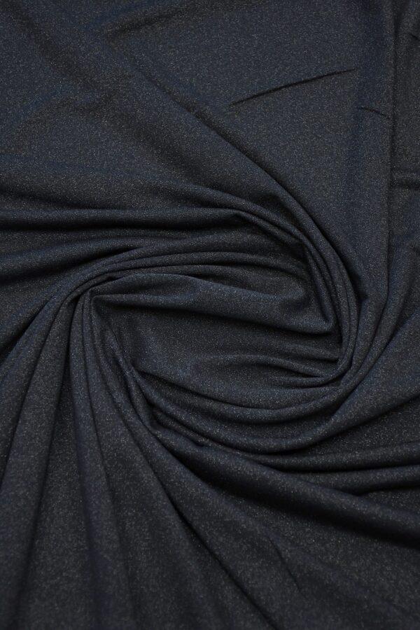 Трикотаж темно-синий с люрексом 2
