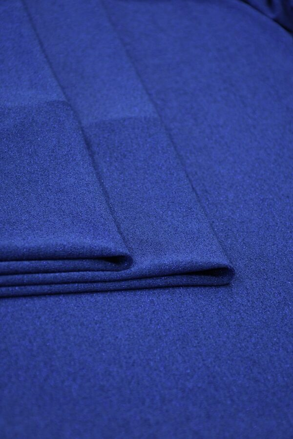 Трикотаж синий с люрексом 3