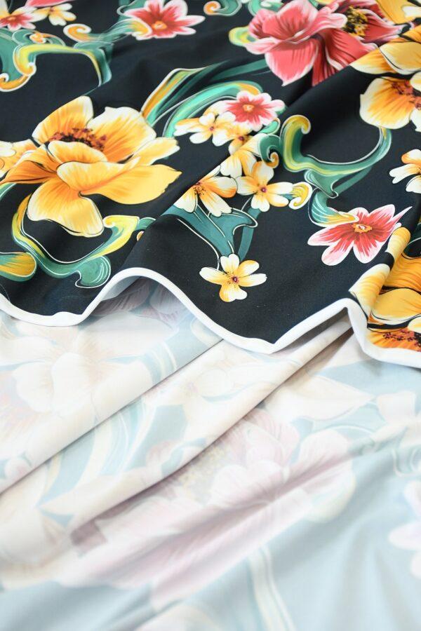 Бифлекс с крупным цветочным принтом 4