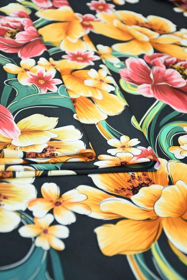 Бифлекс с крупным цветочным принтом 3