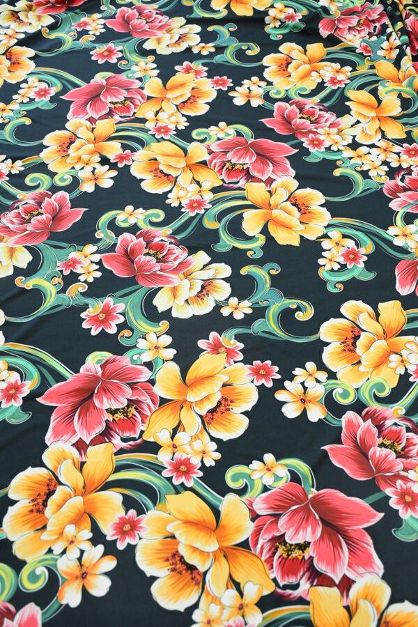 Бифлекс с крупным цветочным принтом 5