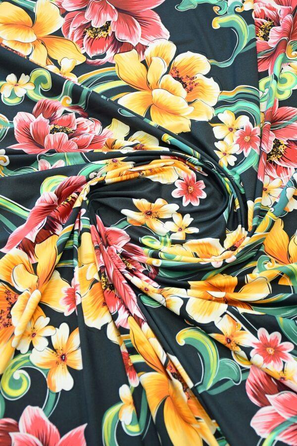 Бифлекс с крупным цветочным принтом 2