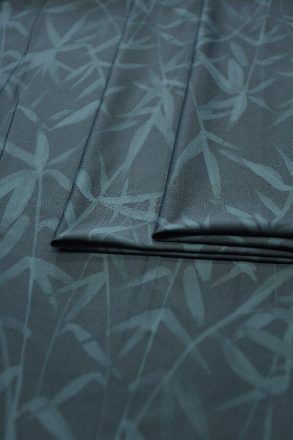 Бифлекс серо-синий со стеблями бамбука 4