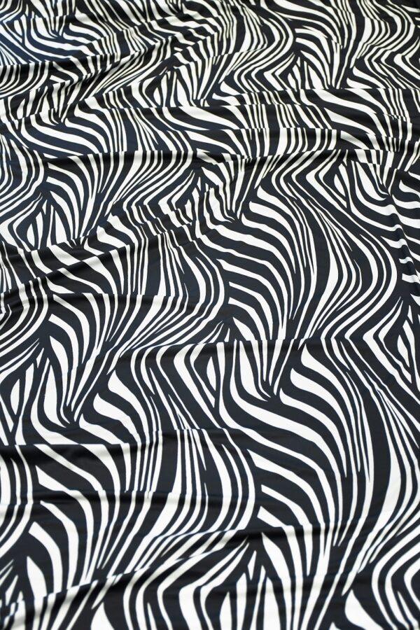 Бифлекс с черно-белой зеброй