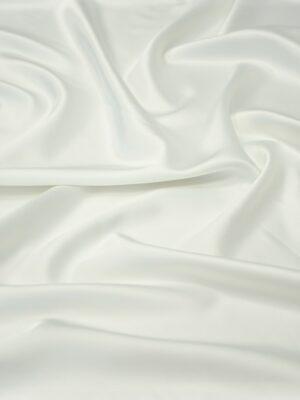 Атлас стрейч молочный