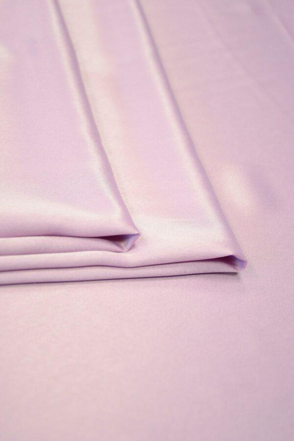 Атлас холодный розовый оттенок 4