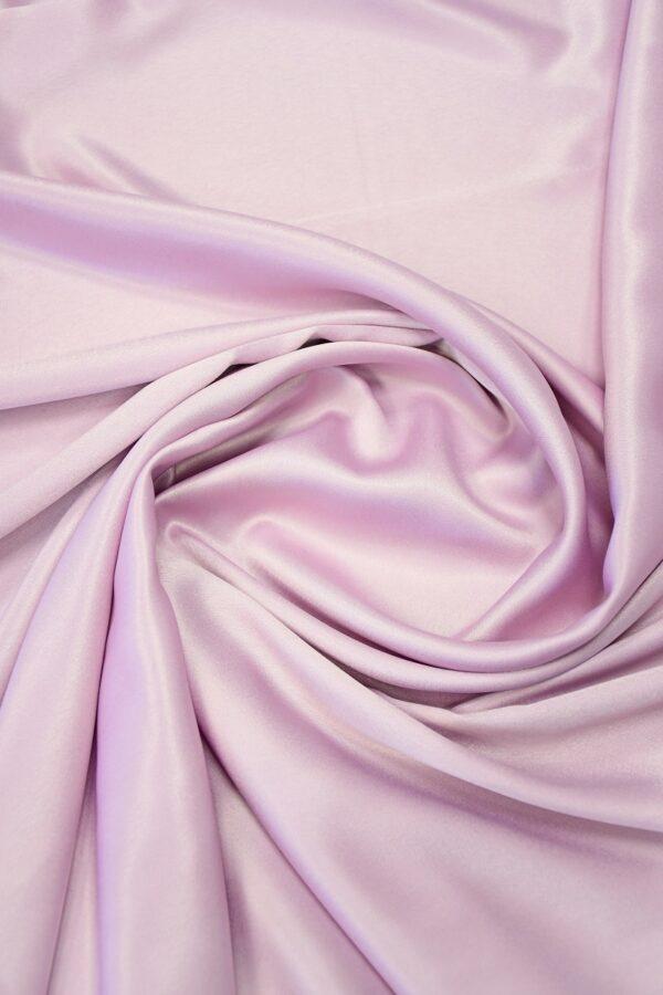 Атлас холодный розовый оттенок 2