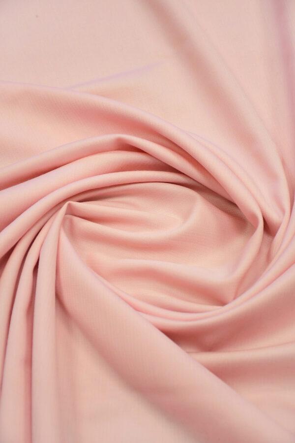 Шерсть нежно-розовая в мелкую полоску 3
