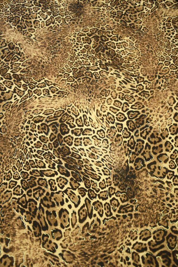 Трикотаж леопардовый с люрексом 5