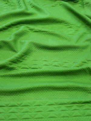 Джерси зеленый с фактурным узором